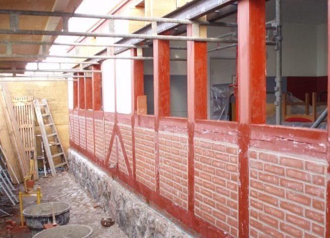 Bindingsværkshus bindingsværk tømrer, bindingsværk restaurering, renovering af bindingsværk